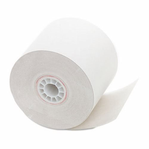 (PM Company Paper Rolls, One Ply Recycled Receipt Roll, 2 1/4 inch x 150 ft, White, 12/Pack)