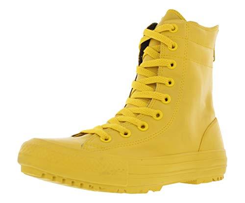 Converse Women's Chuck Taylor All Star Hi-Rise Boot Rubber (6.5 US, Yellow Bird)