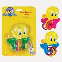 Looney Tunes Baby Tweety Rattle [並行輸入品]   B0784PBLLP