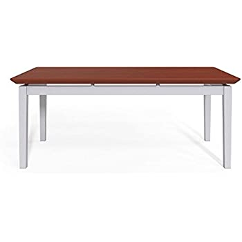 Amazon Com Amherst Steel Coffee Table 40 W X 20 D Cherry Top