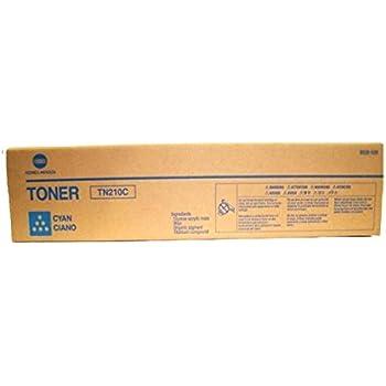 TN210C 8938-508 Genuine Konica Minolta Bizhub C250 C252 Cyan Toner