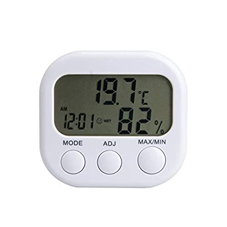 Barry Century Indoor Thermometer Hygrometer,High Precision Temperature Humidity Meter Thermometer Monitor,for Household Baby Room,Greenhouse//Office//Living Room