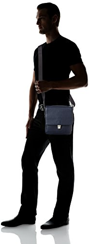 ECCO Jos Small Crossbody - Shoppers y bolsos de hombro Hombre Azul (Blue)