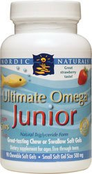 Nordic Naturals - Ultimate Omega Junior (fraise) - 90 Capsules