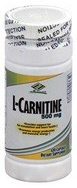 NU Health L Carnitine 500 Mg 120 Capsules
