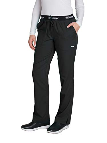 - Grey's Anatomy Active 4275 Drawstring Scrub Pant Black M