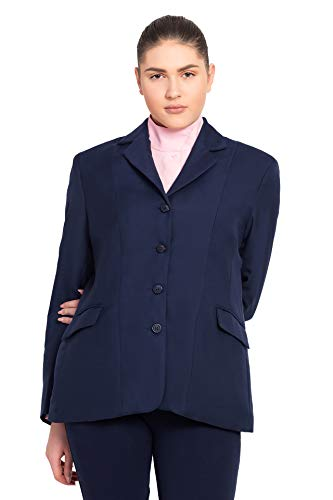 TuffRider Women's Regular Starter Show Coat, Navy, 10