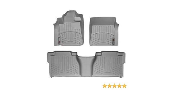 WeatherTech Custom Fit Rear FloorLiner for Toyota Tundra CrewMax Grey 460933