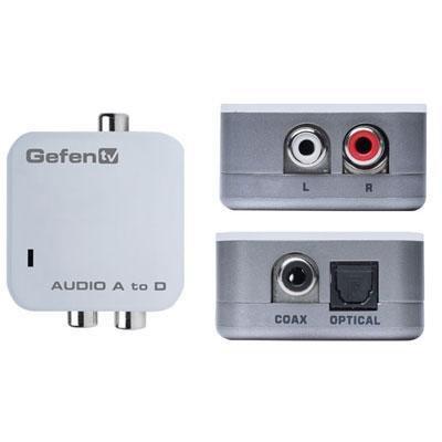 Gefen Gtv-Aaud-2-Digaud Analog To Digital Audio Adapter