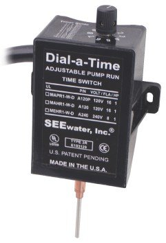 See Water Dial-a-Time™ Sump Pump Switch 120V Piggyback Plug by See Water, Inc.