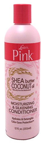 (Luster's Pink Shea Butter Coconut Oil Moisturizing & Silkening Conditioner, 12 Ounce)