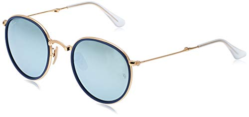 Ray-Ban Rb3517 Folding Metal Round Sunglasses