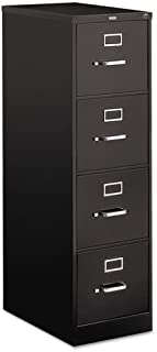 product image for 510 Series Four-Drawer, Full-Suspension File, Letter, 52h x25d, Black
