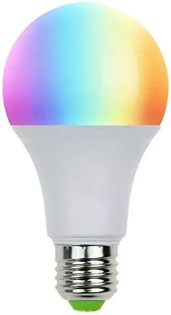 Smart WiFi LED Bulb RGBW Warm White 7W E27
