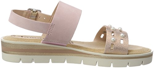 Sandals Women''s rose Sling Met 28227 Back rose Tamaris Pink 613 1Uwvfw
