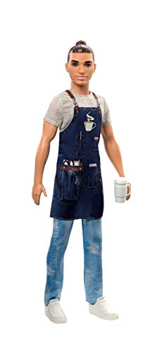 Barbie Careers Ken Barista Doll