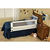 Regalo Single Hideaway Bedrail (5050) - Extra Long Security - 56'' - Extra Tall 22''