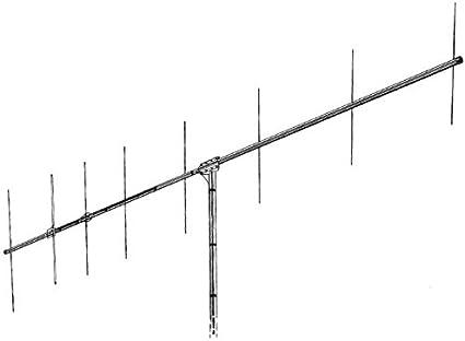 Hy-Gain VB-28FM  144-148 MHZ 2 Meter Ham Beam Yagi Antenna High Gain Low Cost