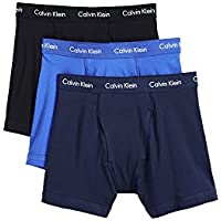 Cotton Stretch 3 Pack Boxer Briefs