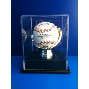 Golden Glove Ball Case - Single - Sports Memorabilia Display Case