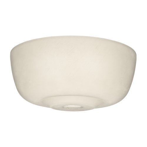 Casablanca Fan Company 99059 Transitional Glass Bowl for 99023, Cased White (Pendant Casablanca Glass)