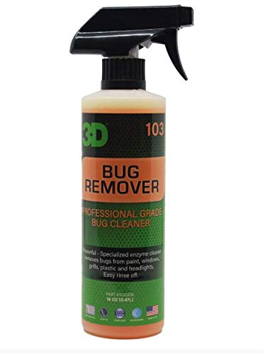 3D Auto Detailing Products Bug Remover
