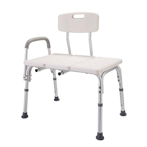 Medical Shower Transfer Bench 10 Height Adjustable Bathtub Seat Stool