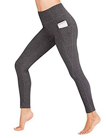 Heathyoga Yoga Pants High Waist Leggings for Workout Running & Yoga, Super Soft and Non See-Through Fabric (H7521 SMHUI, X-Small)