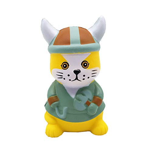 Clearance Sale!DEESEE(TM)Mini Adorable Pirate Cat Super Slow Rising