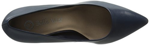 Bella Women's Vita leather Dress navy Pump Define wp74Hqw