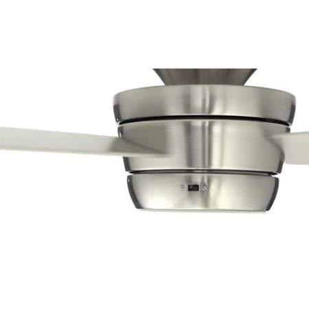Harbor Breeze Mazon Indoor Ceiling Fan-Brushed Nickel