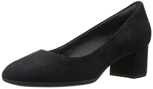 Rockport Dames Total Motion Novalie Jurk Pump Zwart Suède