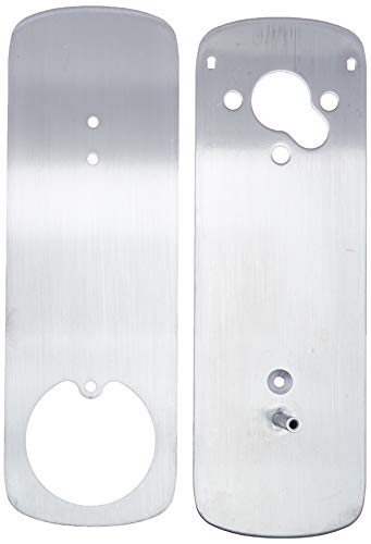 Ultraloq UUL-UL3-DCP-SN UTEDCPSN Deadbolt Cover Plate, Accessory, Satin Nickel