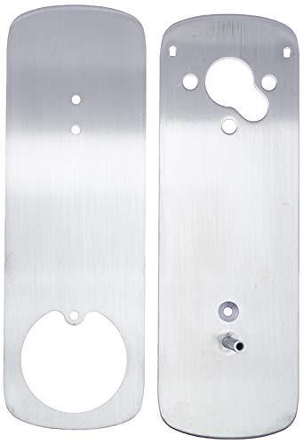 (Ultraloq UUL-UL3-DCP-SN UTEDCPSN Deadbolt Cover Plate, Accessory, Satin Nickel)