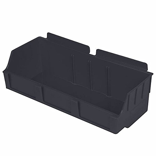 New Standard Black Storbox wide for Slatwall 4.65''d x 11.42''w x 3.35''h by Storbox