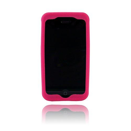 Silicone Incipio Case Dermashot - Incipio Technologies dermaSHOT Silicone Case for iPhone 3G, 3G S (Magenta)