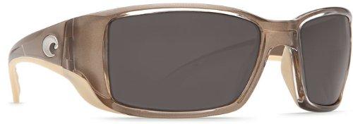 Costa Del Mar Blackfin Sunglasses, Crystal Bronze, Gray 580 Plastic Lens