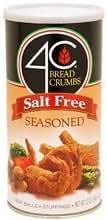 Breadcrumbs: 4C Salt Free