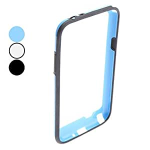 Protective Bumper Frame for Samsung Galaxy Note 2 N7100 (Assorted Colors) --- COLOR:Black