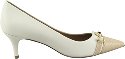 Coach Women¡¯s Lauri Chalk Beechwood Mat Calf Pointed-Toe Pumps 8.5 B US Women Photo #6