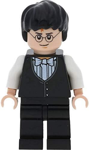 LEGO Harry Potter: Harry Potter Con Yule Ball Vest Y Bow Tie Minifigura: Amazon.es: Juguetes y juegos