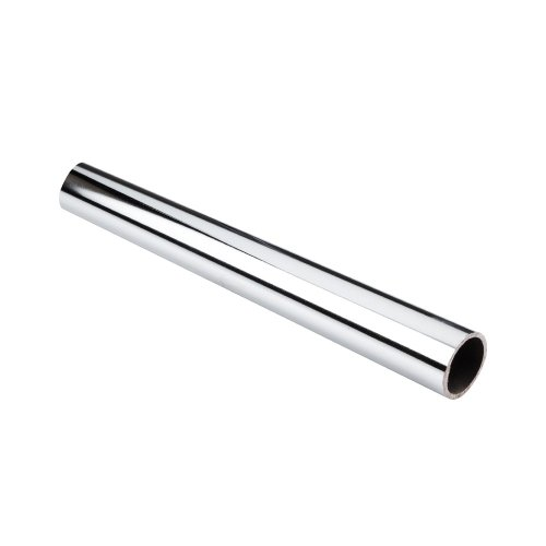 Round Tubing Chrome - Box of 6 Pcs- 8 Feet Long- Chrome Round Closet Tubings for 1