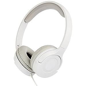 AmazonBasics Lightweight On-Ear Headphones - White