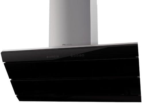 Mepamsa Orizzonte pro 730 m³/h De pared Negro, Acero inoxidable - Campana (730 m³/h, Canalizado, 55 dB, 62 dB, 66 dB, De pared): Amazon.es: Hogar