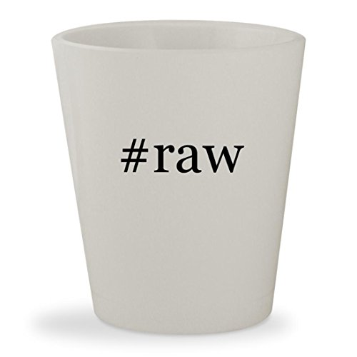 Price comparison product image #raw - White Hashtag Ceramic 1.5oz Shot Glass