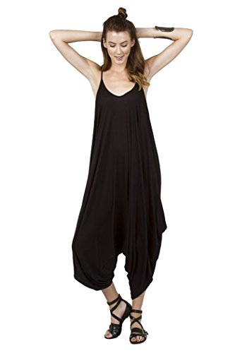 Love in Harlem Jumpsuit ,Black,Small