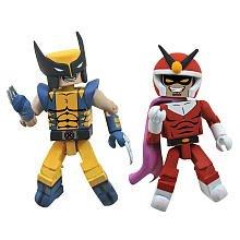 Minimates: Marvel vs Capcom 3 Series 2 Wolverine vs Viewtiful Joe Action Figure 2-Pack by Art (Minimates Art Asylum)