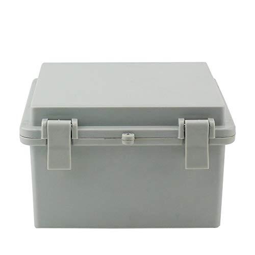 Sunnyglade ABS Plastic Dustproof Waterproof IP65 Junction Box Universal Durable Electrical Project Enclosure With Lock (5.9