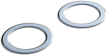Chrom Nebelscheinwerfer Ringe Umrandung Für Ducato 2014 2020 Aus Edelstahl Auto