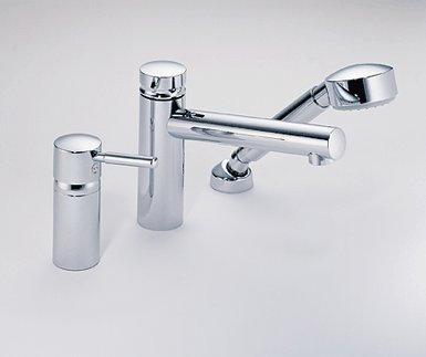 Brizo 6714815-PC Quiessence Roman Tub Faucet w/ Hand Shower Chrome